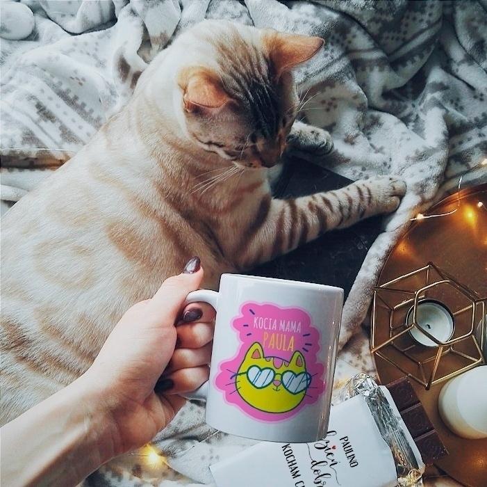 Zdjęcie w galerii - KUBEK prezent dla kociary Kocia Mama personalizowany