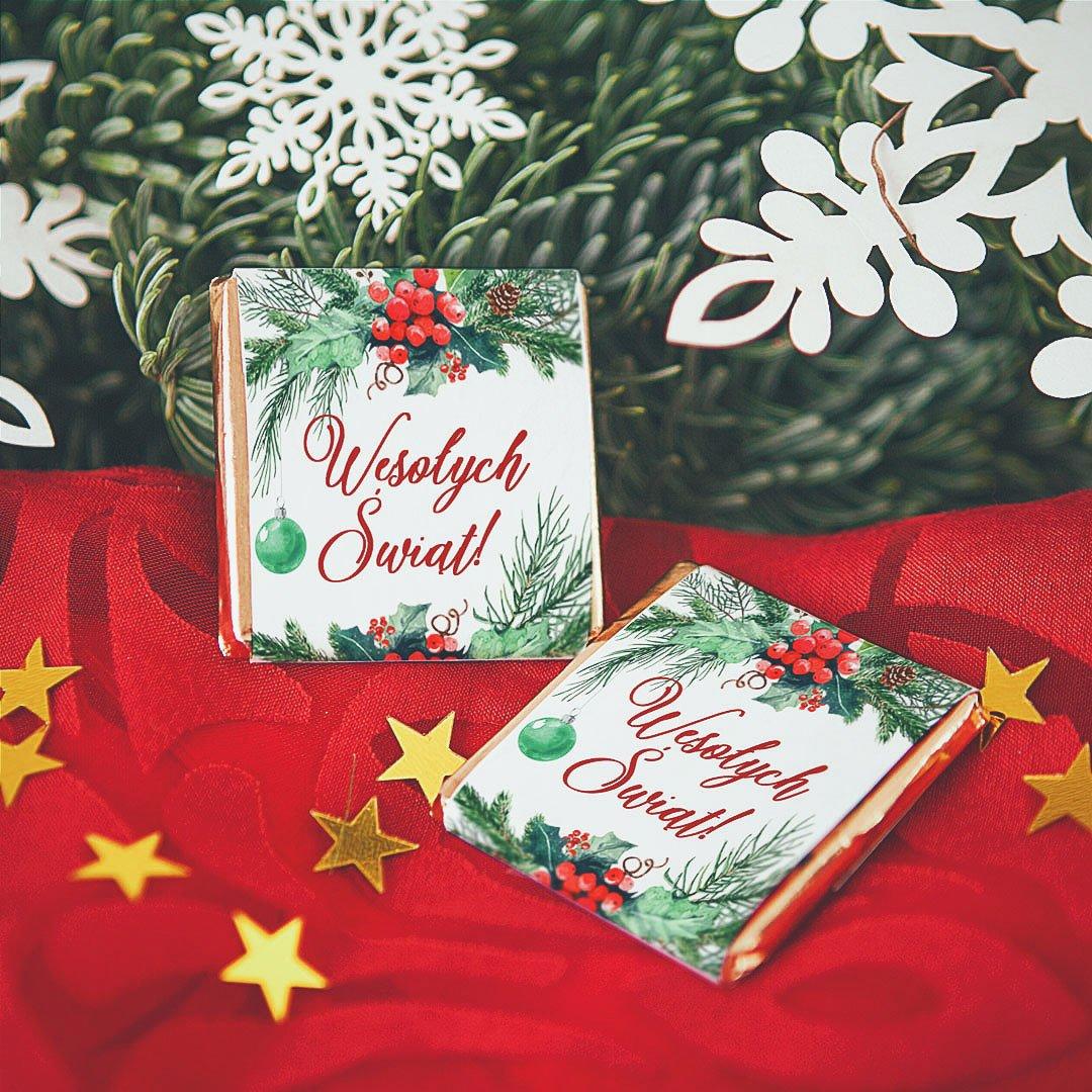 Zdjęcie slidera - CZEKOLADKA świąteczna Zimowa Jarzębina