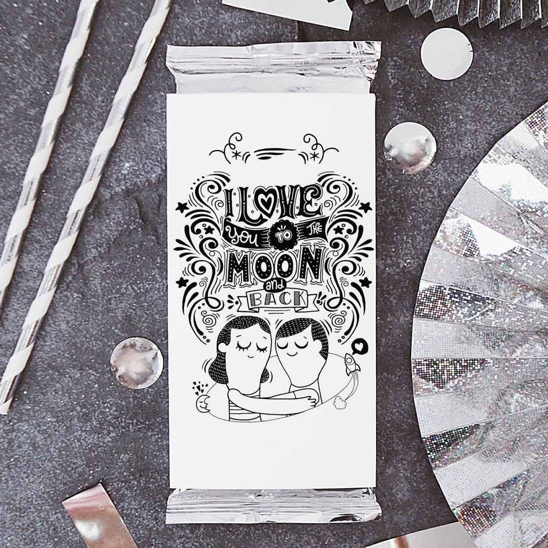 Zdjęcie slidera - CZEKOLADA Love to the Moon