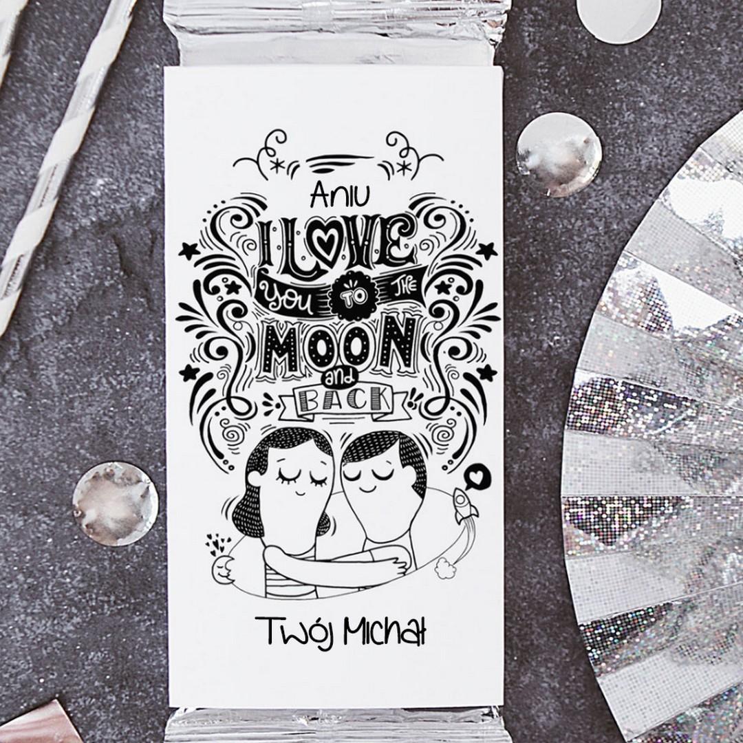 Zdjęcie w galerii - CZEKOLADA Love to the Moon