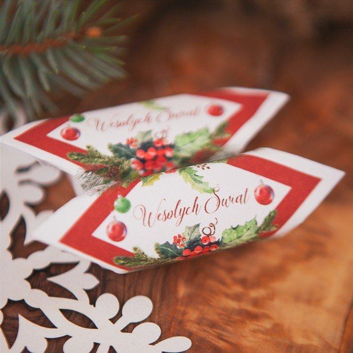 Zdjęcie slidera - KRÓWKA uniwersalna świąteczna Zimowa Jarzębina