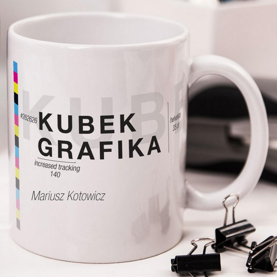 Zdjęcie w galerii - KUBEK prezent Dla Grafika personalizowany