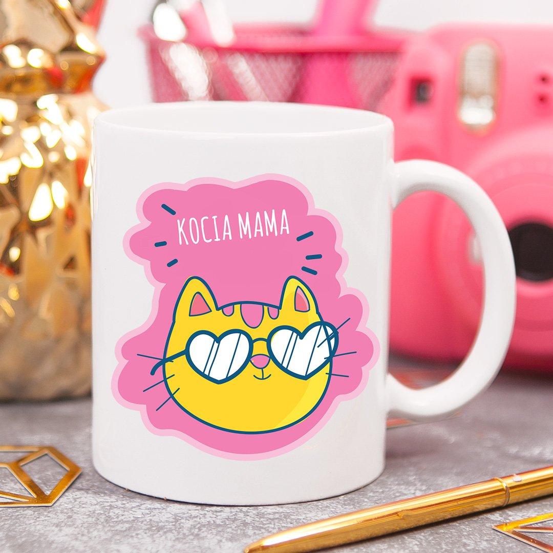 Zdjęcie slidera - KUBEK prezent dla kociary Kocia Mama personalizowany