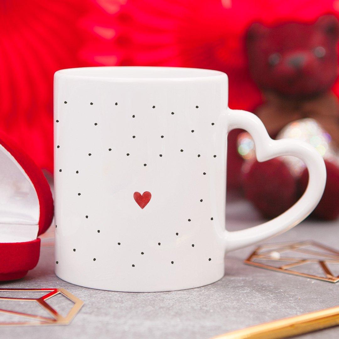 Zdjęcie slidera - KUBEK z Sercem dla ukochanego dla ukochanej Miś