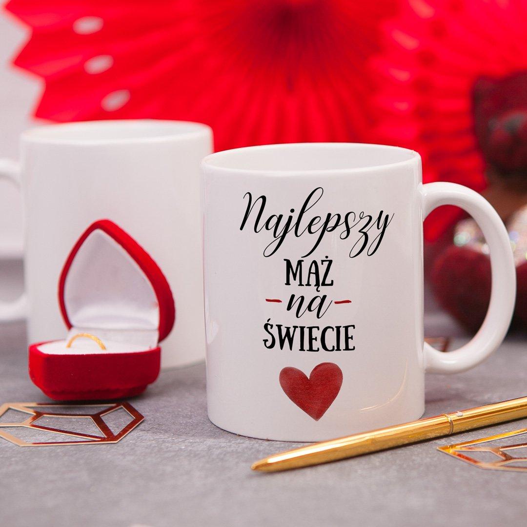 Zdjęcie w galerii - KUBEK prezent dla męża Najlepszy Mąż Na Świecie personalizowany