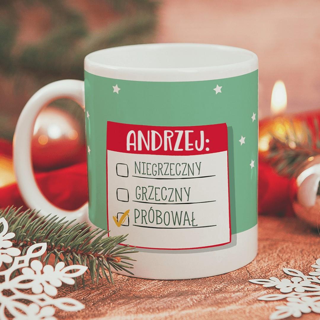 Zdjęcie w galerii - KUBEK prezent świąteczny List do Mikołaja personalizowany