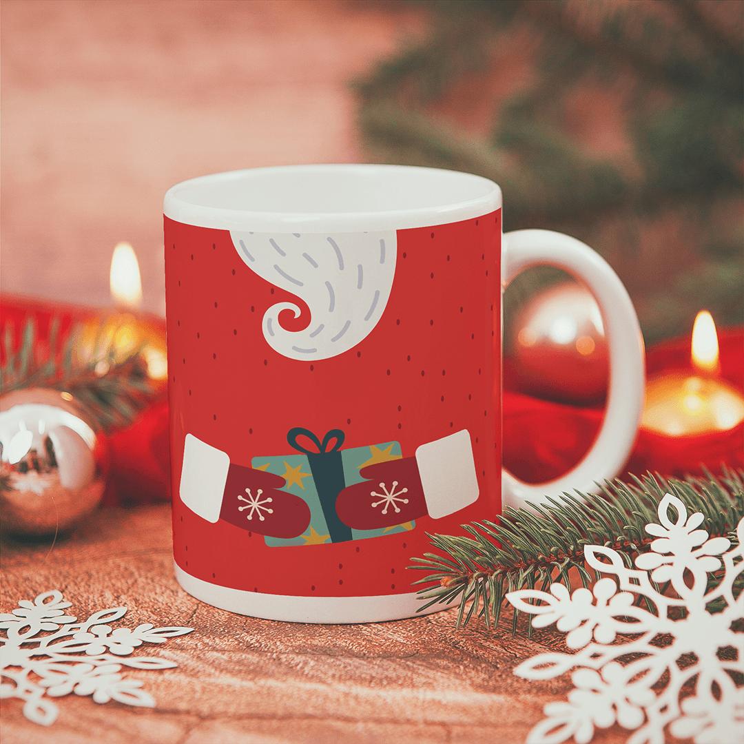 Zdjęcie slidera - KUBEK prezent świąteczny Broda Mikołaja personalizowany