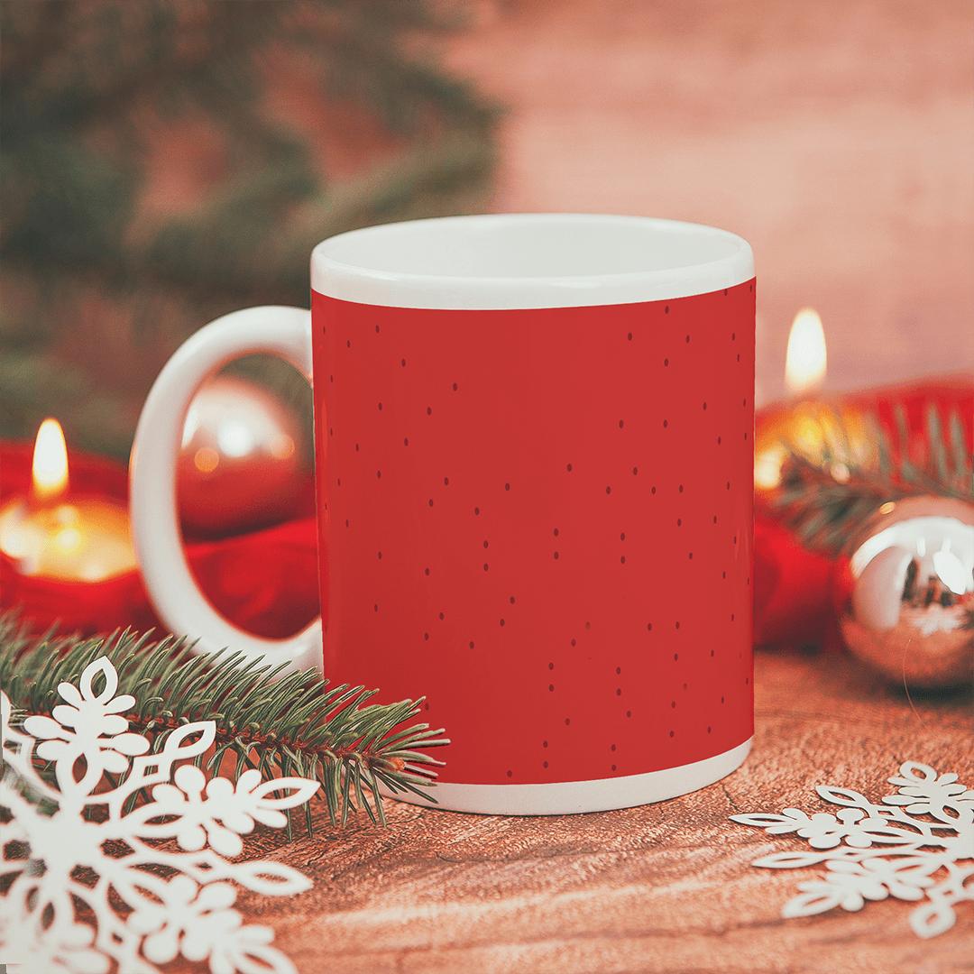 Zdjęcie w galerii - KUBEK prezent świąteczny Broda Mikołaja personalizowany