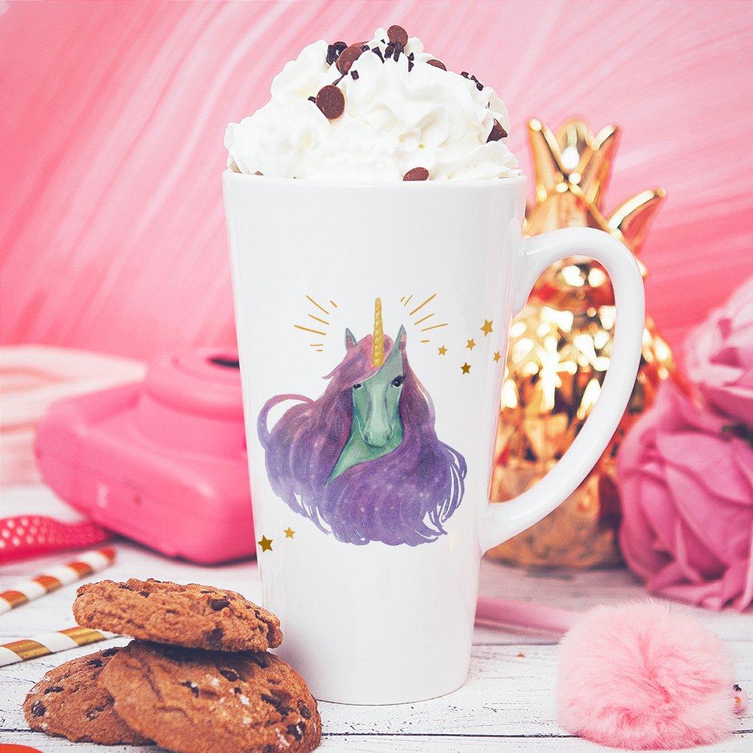 Zdjęcie slidera - KUBEK do latte/cappuccino Bajeczny Jednorożec