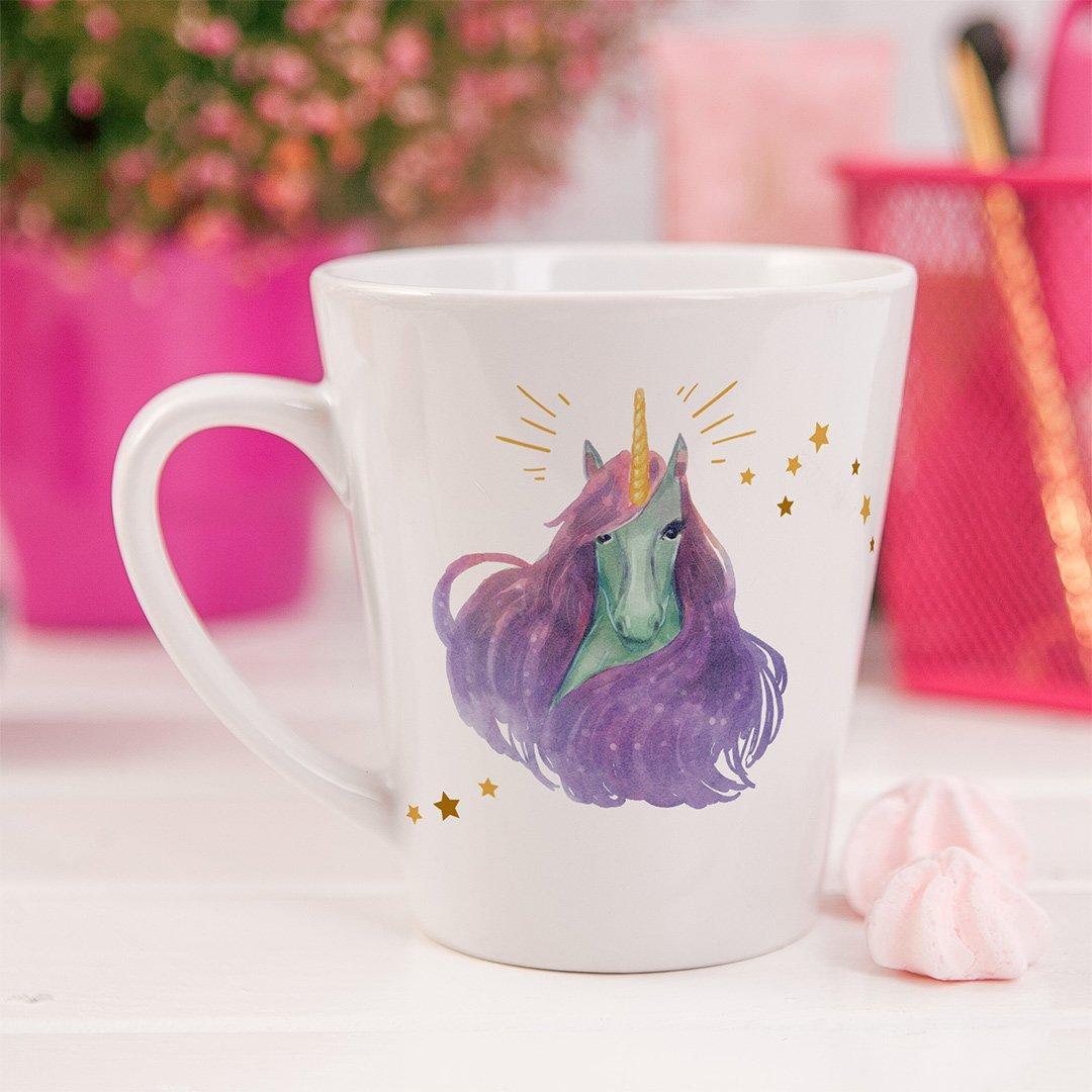 Zdjęcie slidera - KUBEK do latte standard Bajeczny Jednorożec