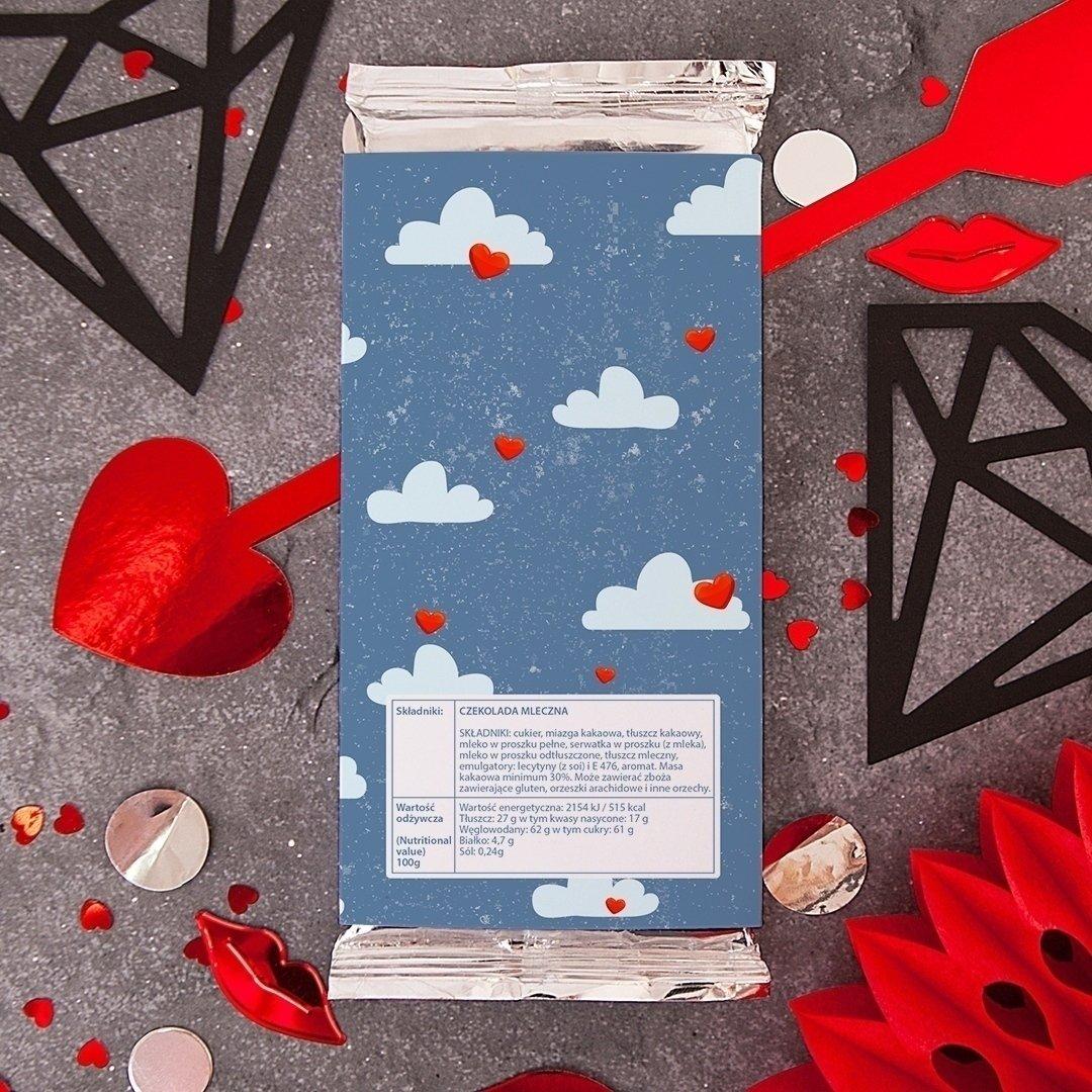 Zdjęcie w galerii - CZEKOLADA na Walentynki dla dziewczyny Będziesz Moją Walentynką