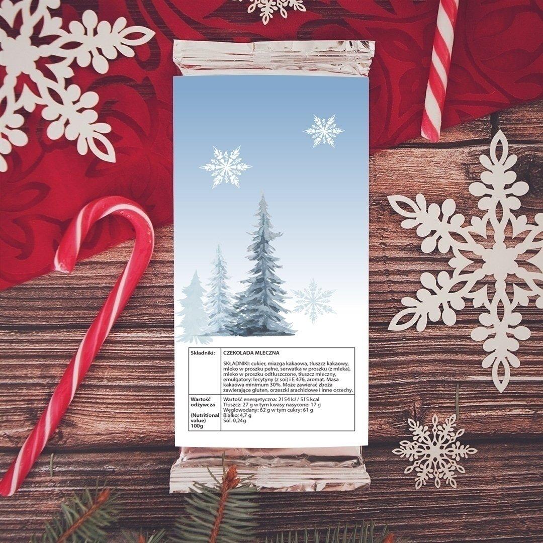 Zdjęcie w galerii - CZEKOLADA świąteczna Srebrna Zima