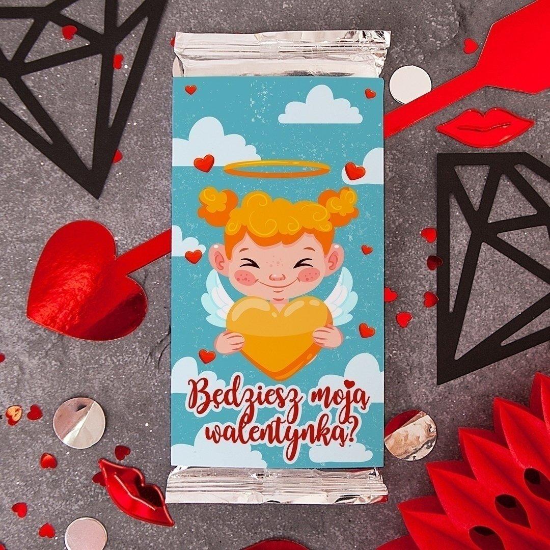 Zdjęcie slidera - CZEKOLADA na Walentynki dla chłopaka Będziesz Moją Walentynką