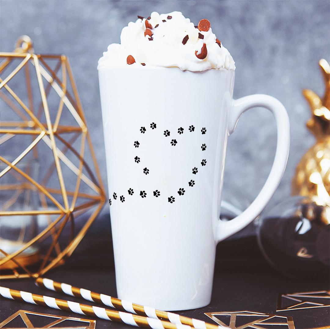 Zdjęcie w galerii - KUBEK do latte/cappuccino Pies Tu Rządzi