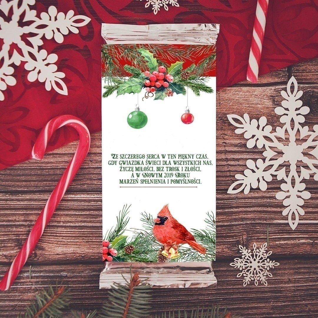 Zdjęcie slidera - CZEKOLADA świąteczna Zimowa Jarzębina