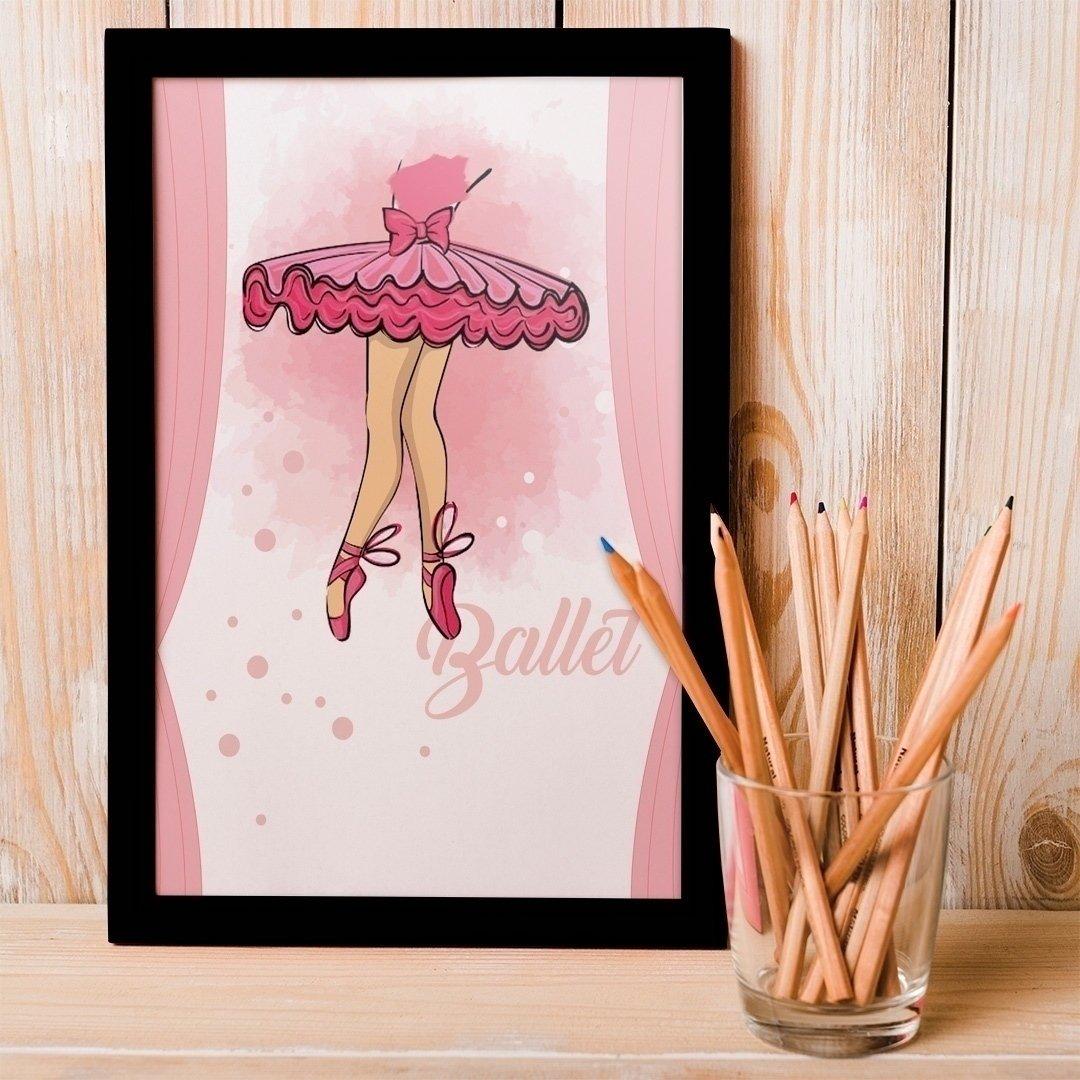 Zdjęcie slidera - PLAKAT dekoracyjny Baletnica +RAMKA