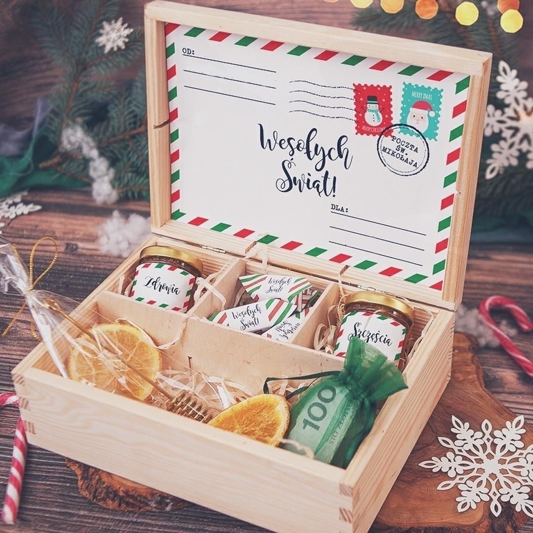 Zdjęcie slidera - SKRZYNKA prezent świąteczny