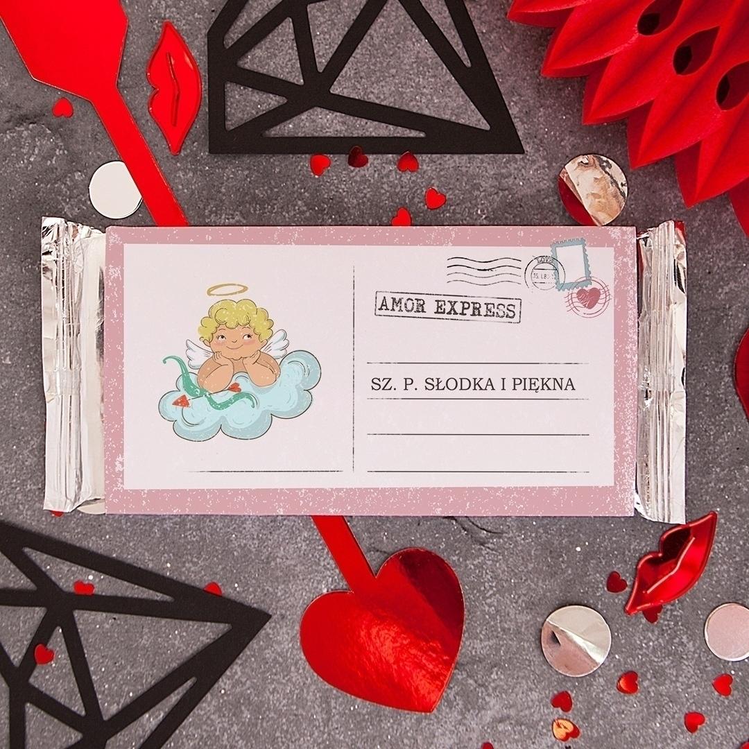 Zdjęcie slidera - CZEKOLADA Walentynkowa Amor Express Dla Niej