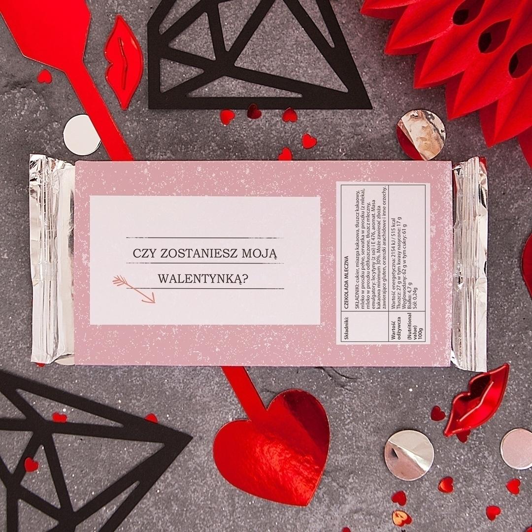Zdjęcie w galerii - CZEKOLADA Walentynkowa Amor Express Dla Niej