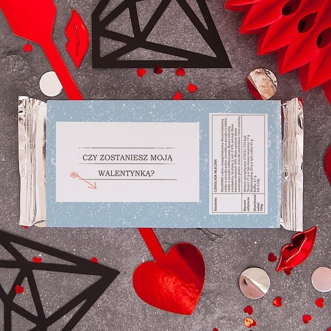 Zdjęcie w galerii - CZEKOLADA Walentynkowa Amor Express Dla Niego