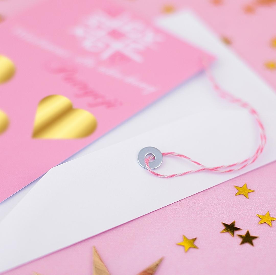 Zdjęcie w galerii - ZDRAPKA Wiadomość Do Ukochanej Prezent Walentynkowy z IMIENIEM