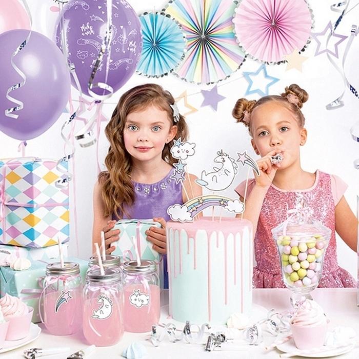 Zdjęcie w galerii - ZESTAW dekoracji na urodziny Jednorożec