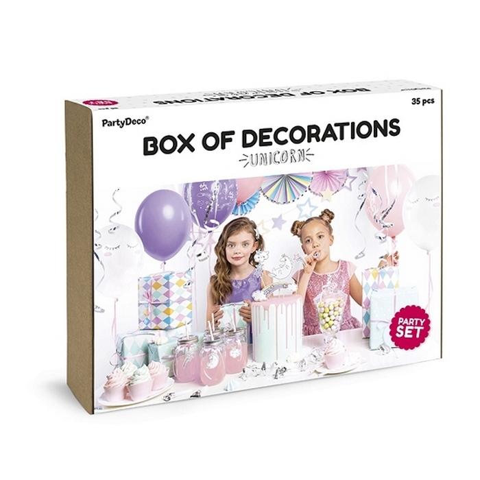 Zdjęcie slidera - ZESTAW dekoracji na urodziny Jednorożec