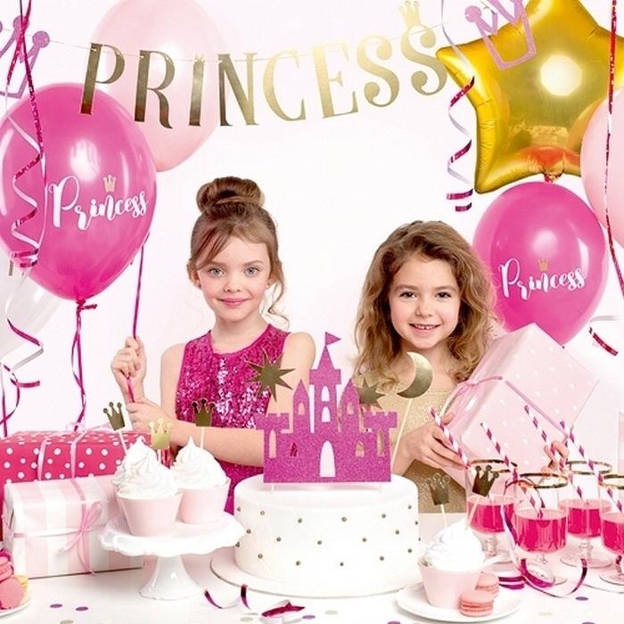 Zdjęcie w galerii - ZESTAW dekoracji na urodziny Księżniczka