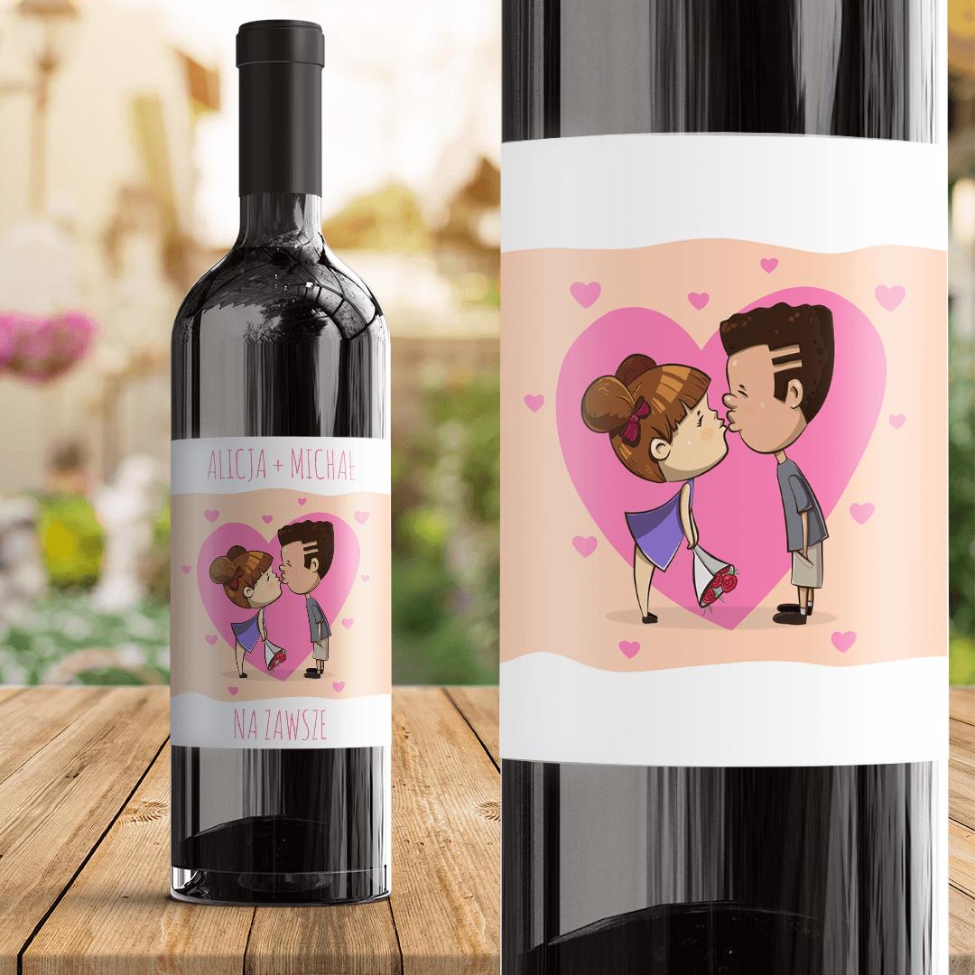 Zdjęcie slidera - ETYKIETA na Wino Dla Ukochanej Osoby