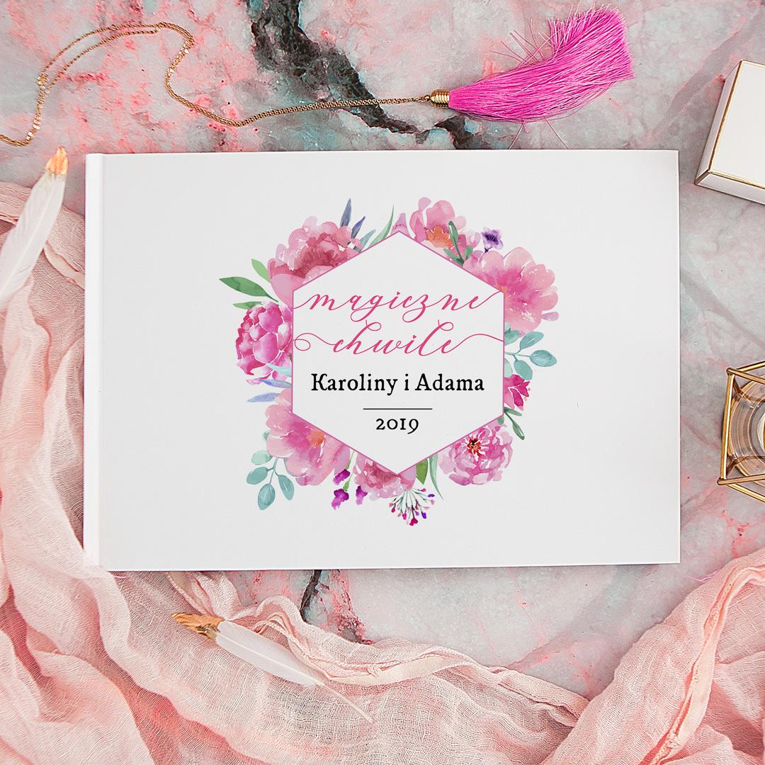 Zdjęcie w galerii - ALBUM do wklejania zdjęć prezent dla zakochanych Magiczne Chwile + PISAK