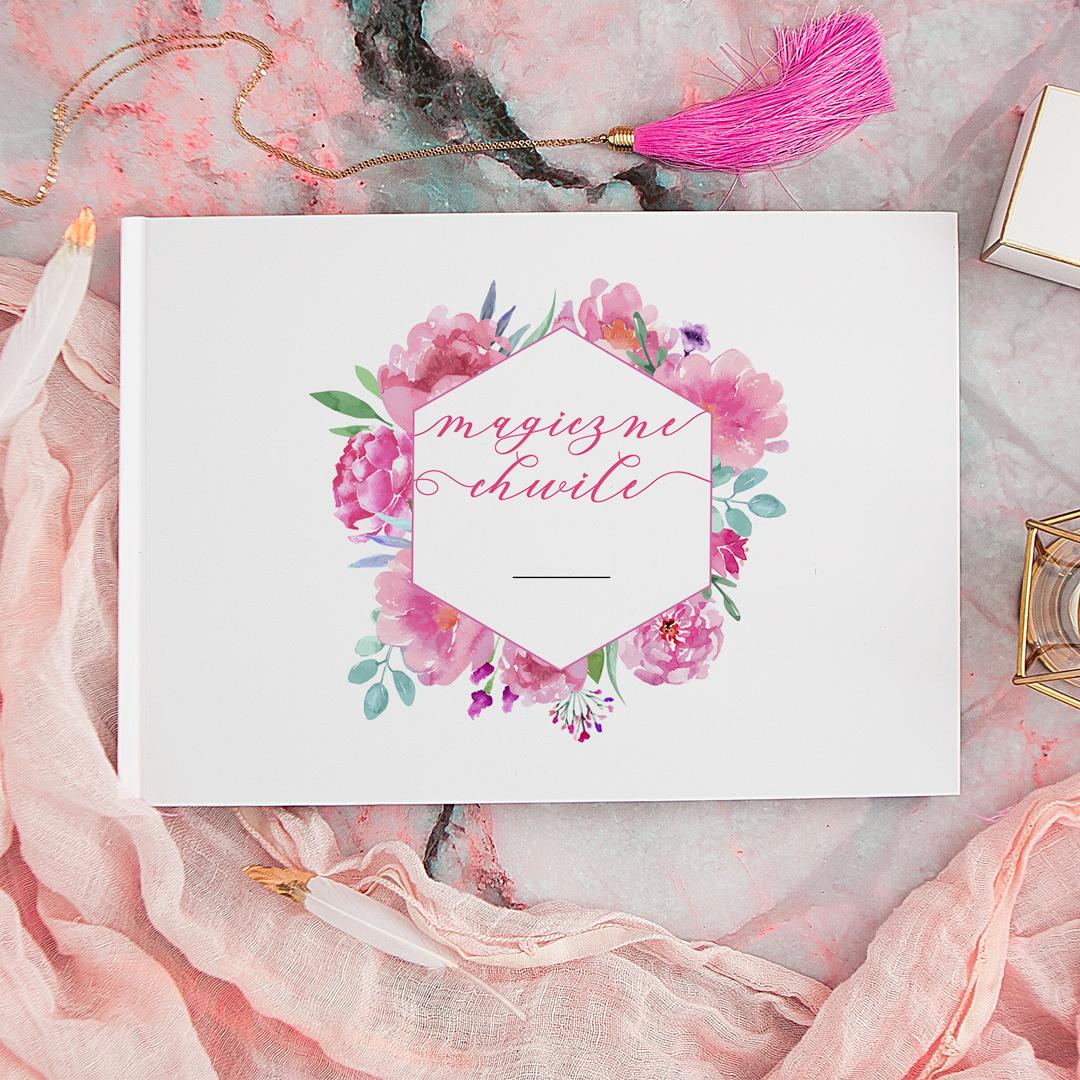 Zdjęcie slidera - ALBUM do wklejania zdjęć prezent dla zakochanych Magiczne Chwile + PISAK