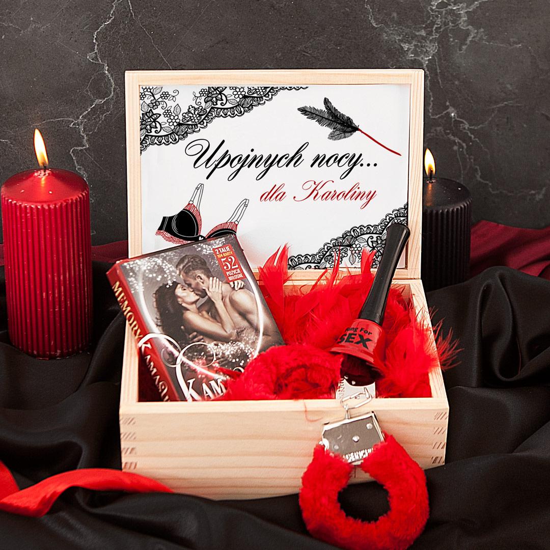 Zdjęcie w galerii - ZESTAW personalizowany prezent na Wieczór panieński Upojnych Nocy