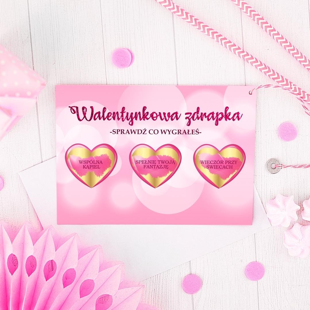 Zdjęcie slidera - ZDRAPKA na Walentynki Sprawdź co Wygrałeś Personalizowana