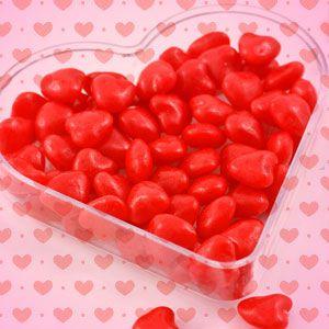 Zdjęcie w galerii - ŻELKI upominek na Walentynki Czerwone Serduszka 1kg ok.320szt