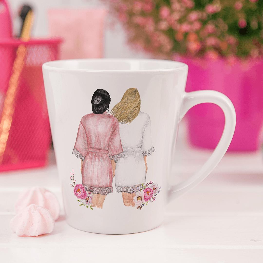 Zdjęcie slidera - KUBEK małe latte Przyjaciółki na zawsze Wasze Imiona +wybór fryzur