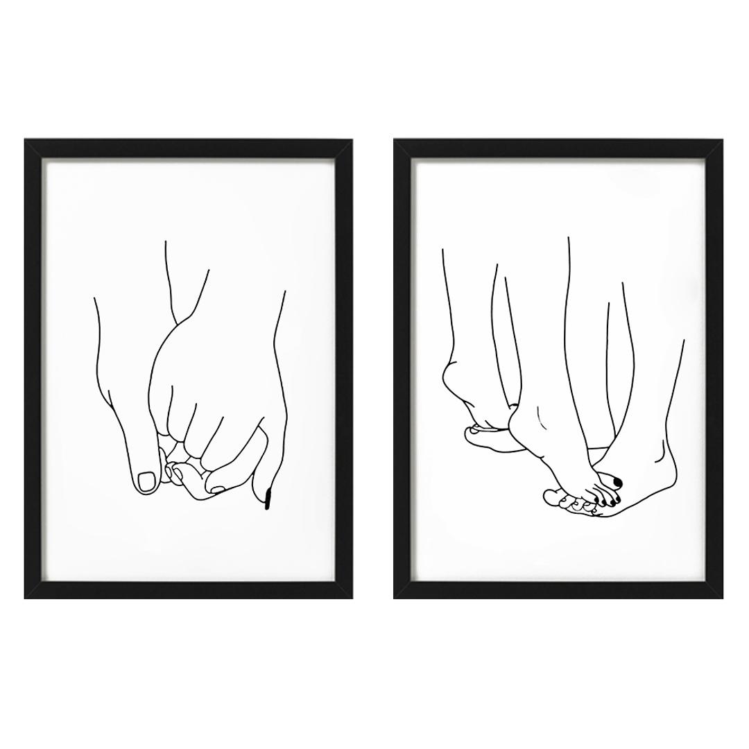 Zdjęcie w galerii - PLAKATY prześliczny zestaw dla zakochanych Razem + RAMY