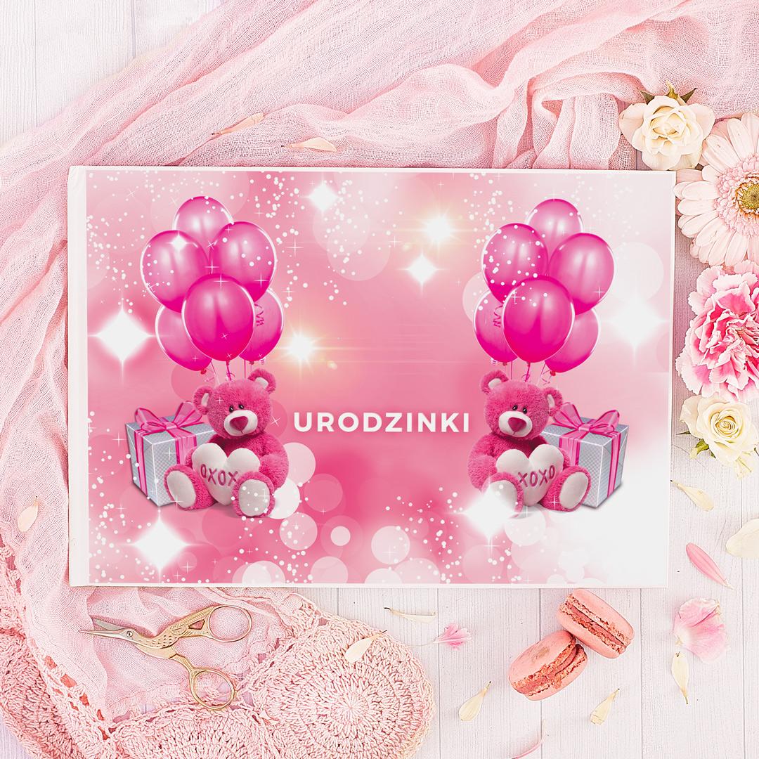 Zdjęcie slidera - ALBUM Urodzinowy do wklejania zdjęć dla dziewczynki z IMIENIEM