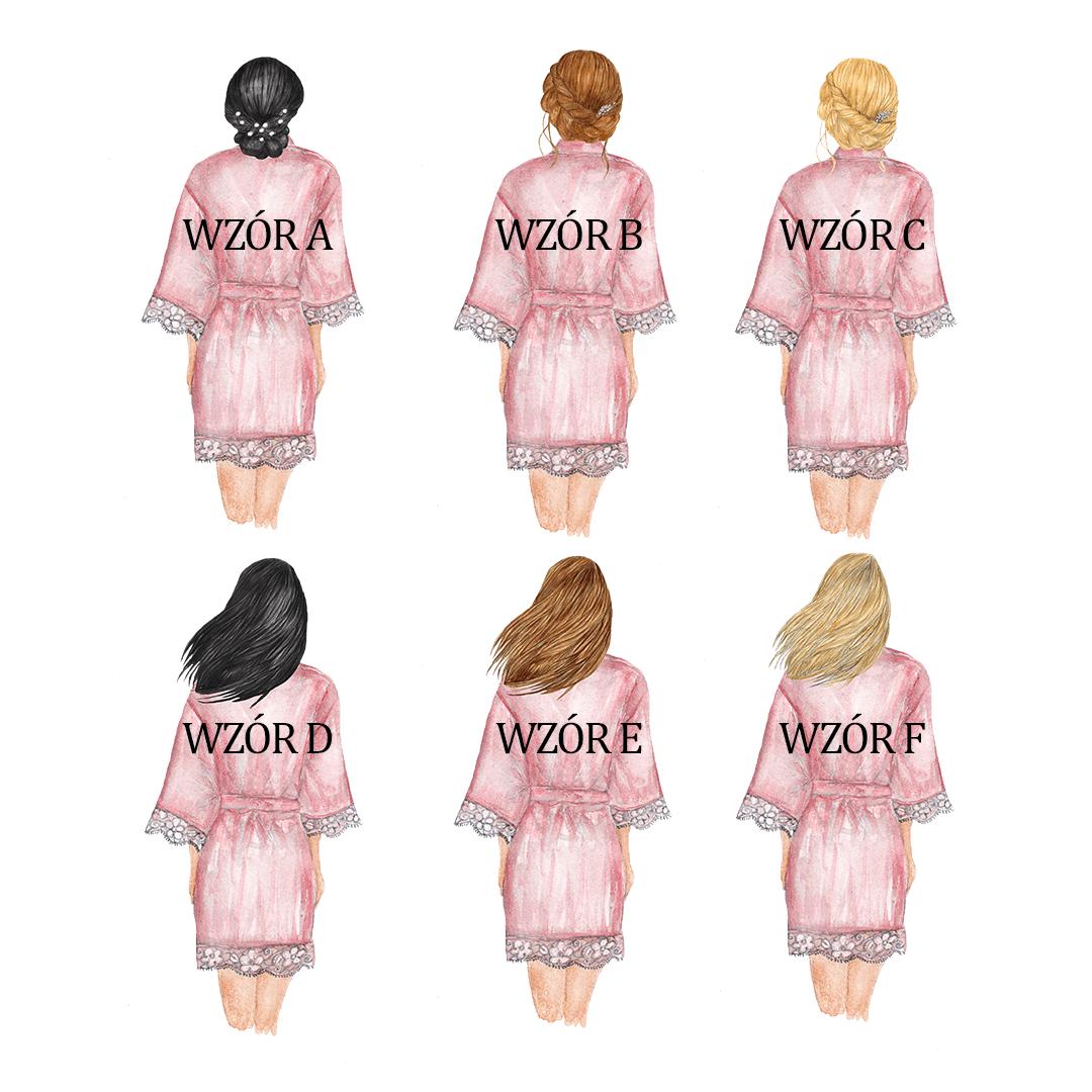 Zdjęcie w galerii - KUBEK Podziękowanie dla Świadkowej z Imionami +wybór fryzur