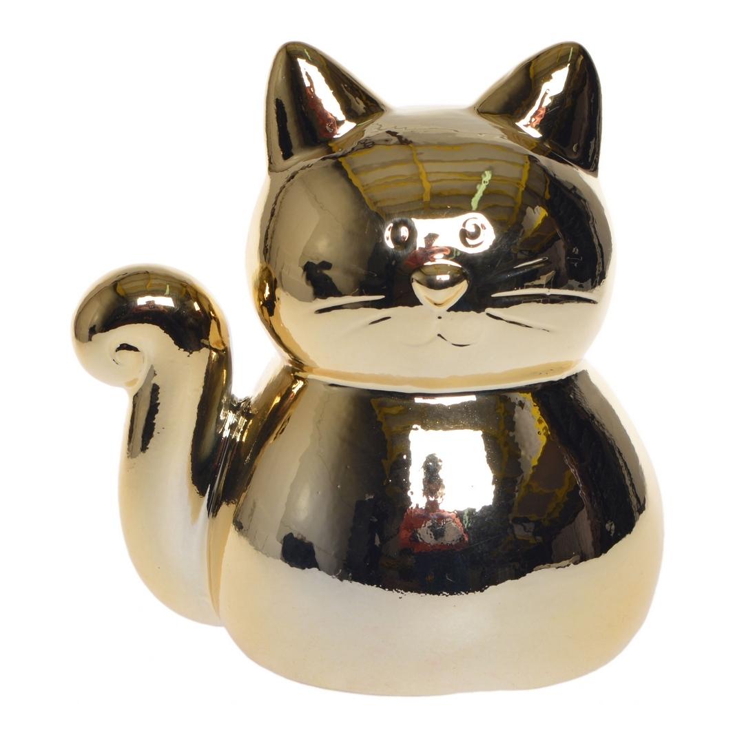 Zdjęcie slidera - SKARBONKA prezent dla dziecka Złoty Kotek