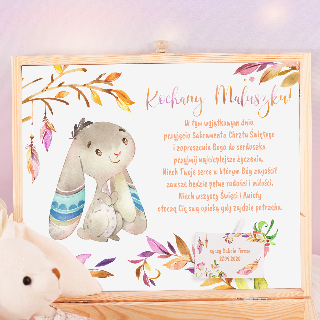 Zdjęcie posta - Prezent dla dziecka na chrzest oraz na roczek