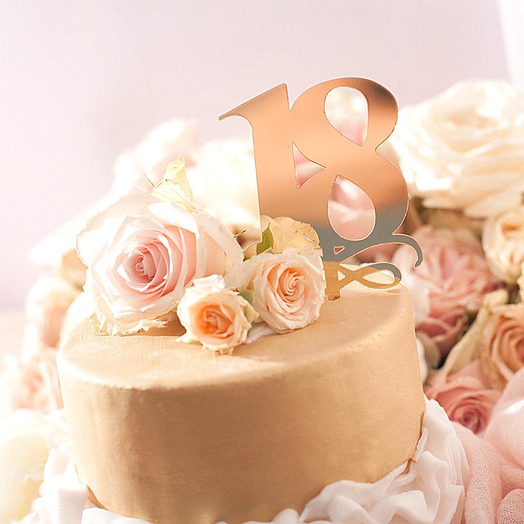 Zdjęcie slidera - KONTUR dekoracyjny na tort 18-nastka