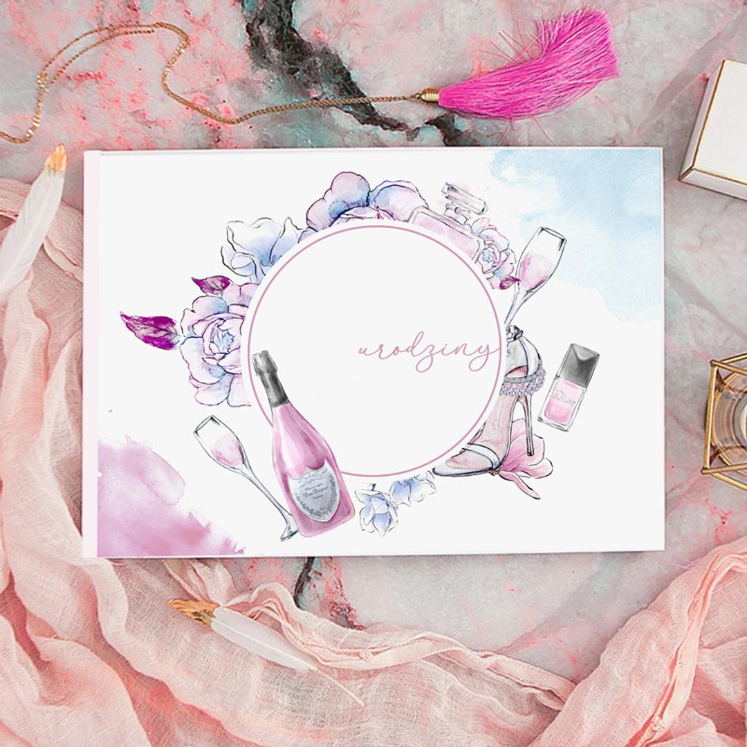Zdjęcie slidera - KSIĘGA Pamiątkowa Urodzin Atrybuty Kobiety na wpisy i zdjęcia