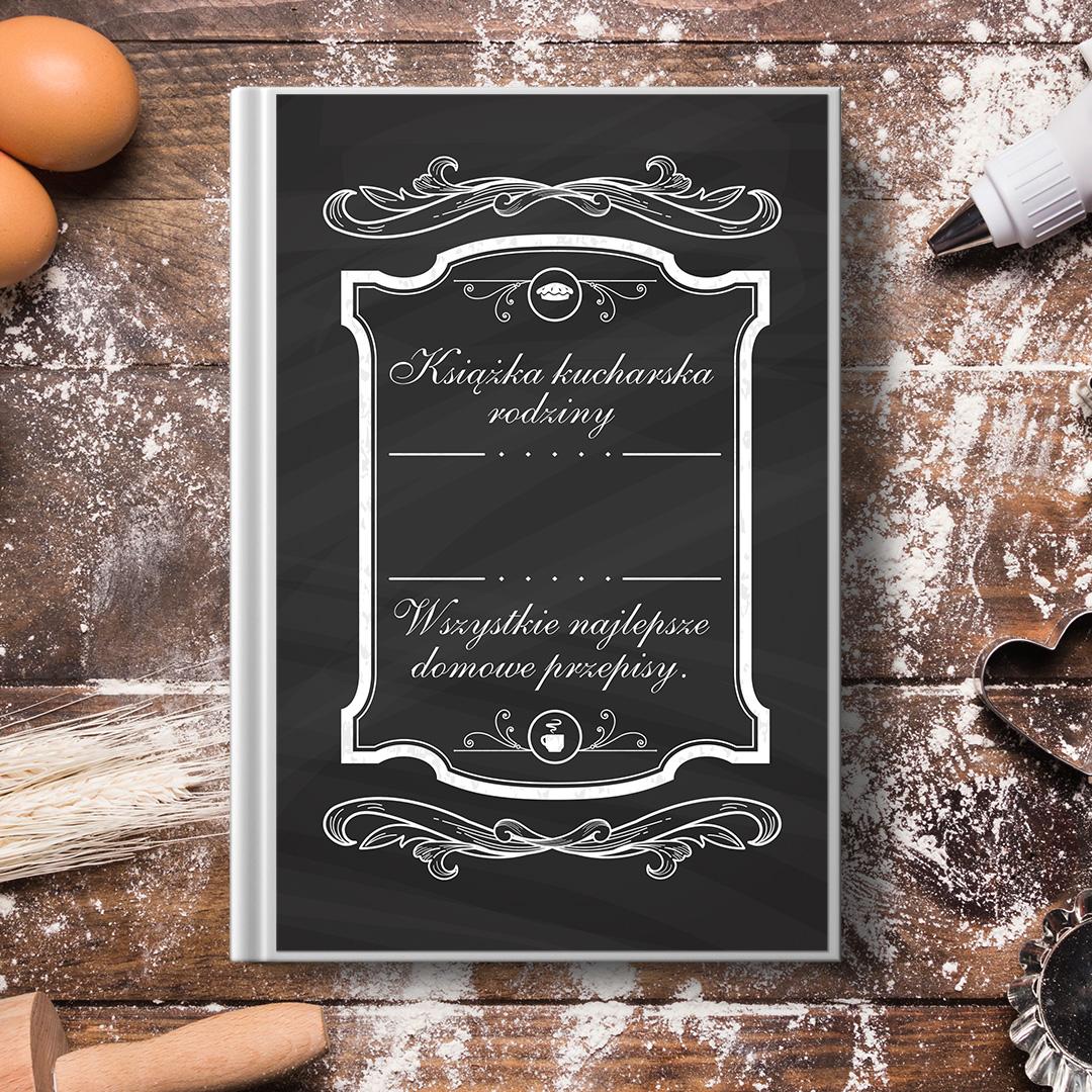 Zdjęcie slidera - KSIĘGA kucharska na Wszystkie Domowe Rodzinne Przepisy PERSONALIZOWANA