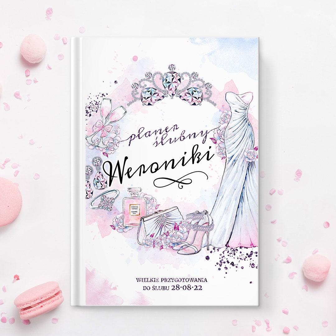 Zdjęcie w galerii - PLANER dla Panny Młodej personalizowany Przygotowania Ślubne