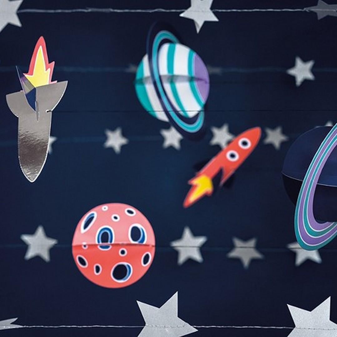 Zdjęcie slidera - ZAWIESZKI dekoracyjne Kosmiczna Atmosfera 5szt