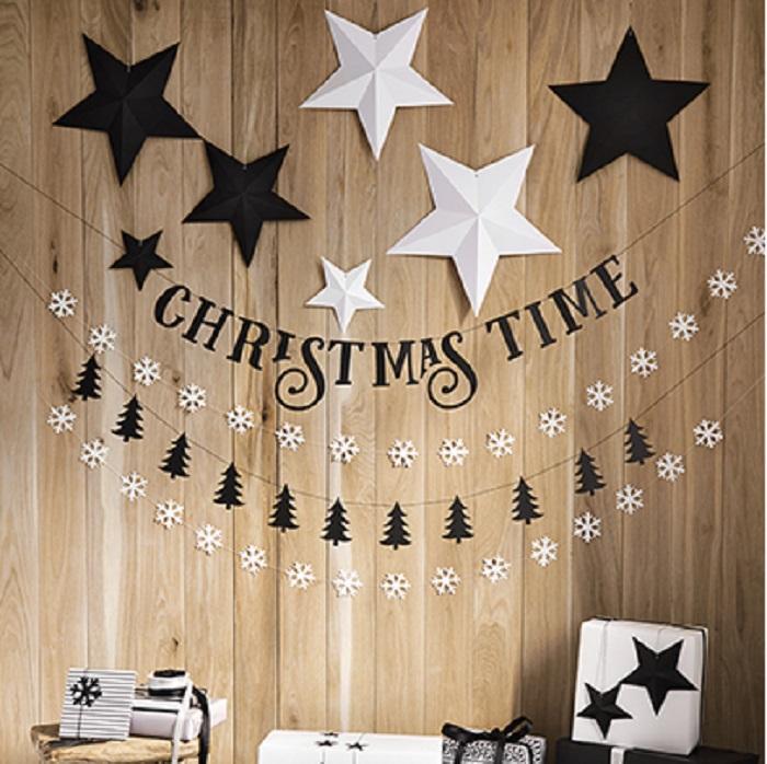Zdjęcie w galerii - Dekoracja świąteczna Gwiazdy, CZARNY