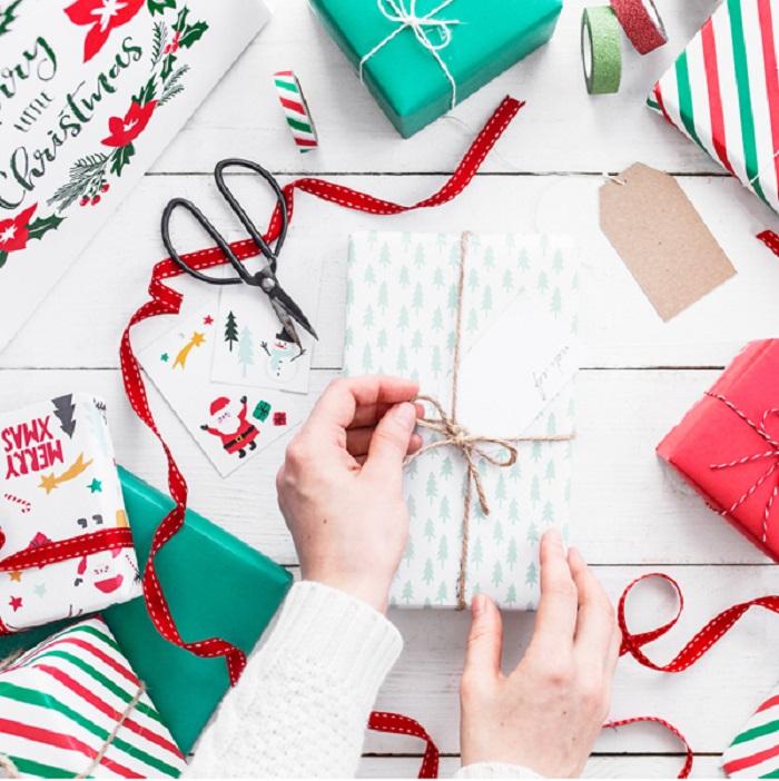 Zdjęcie w galerii - Papier do pakowania Merry Xmas 2szt