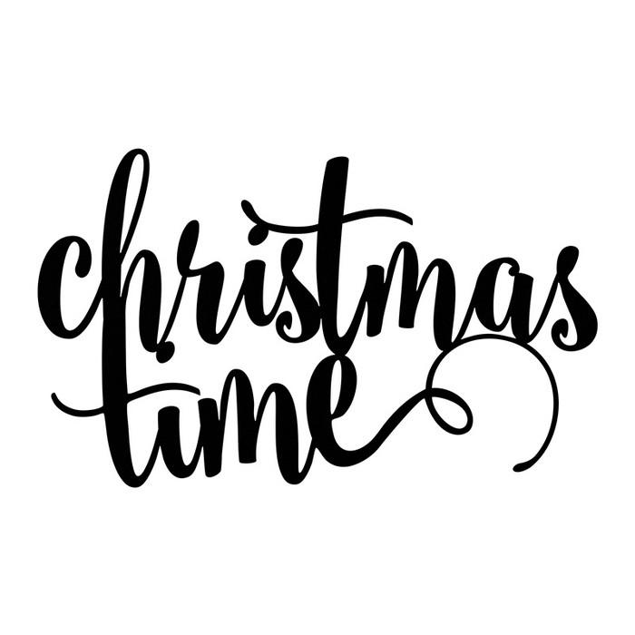 Zdjęcie w galerii - NAPIS dekoracyjny świąteczny Christmas Time