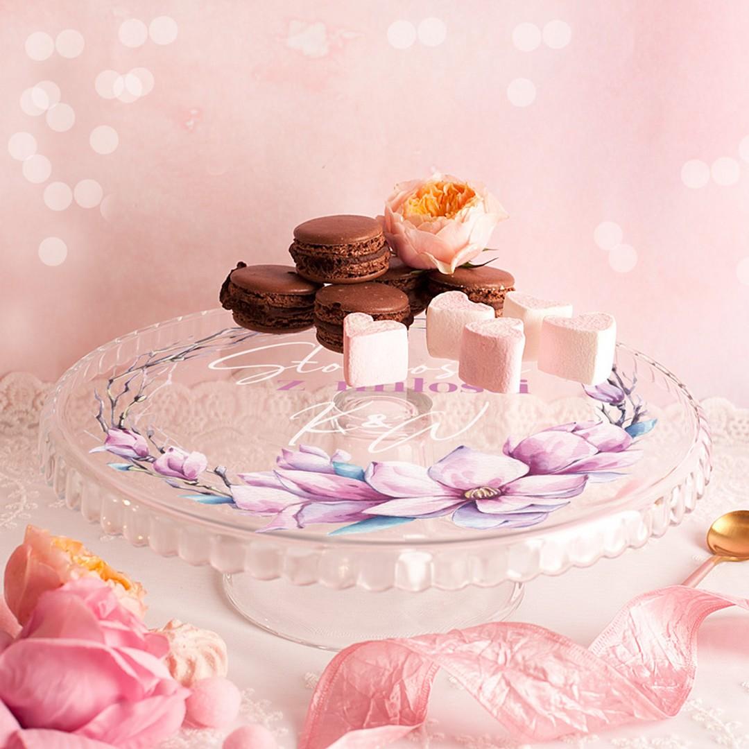 Zdjęcie w galerii - PATERA na Ciasto Słodkości z Miłości Prezent Ślubny PERSONALIZOWANA
