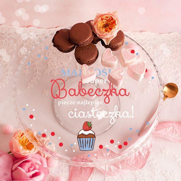 Zdjęcie slidera - PATERA na Wypieki Super Babeczka Piecze Najlepsze Ciasteczka PERSONALIZOWANA